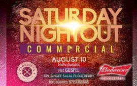 Saturday Nightout ft. DJ Gospel