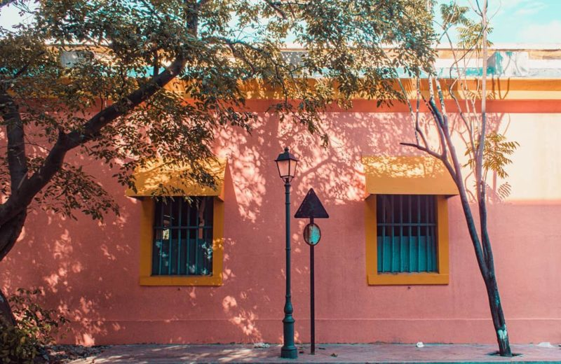 walking through the streets of the French quarter spotting colourful buildings is one of the best things to do in pondicherry