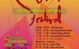Auroville Underground Music Festival