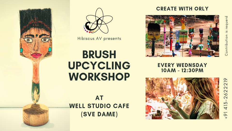 Brush upcycling workshop