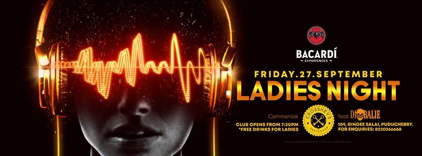 Ladies Night - Commercial, ft. DJ Balie on 27 September