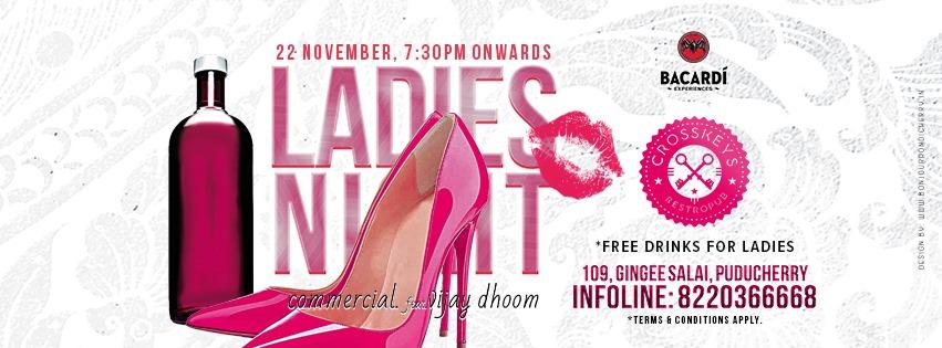 Ladies Night - Commercial Ft. DJ Vijay Dhoom.