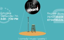 Off The Record – Open Mic Episode 1