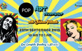 POP ART Workshop with Trishna Patnaik
