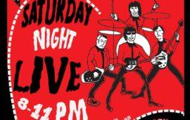 Saturday Night LIVE @ The Greasy Tin
