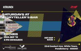 Saturdays ft DJ Chris at The Storytellers Bar