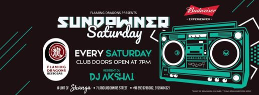 Sundowner Saturday on every Saturday at Flaming Dragons