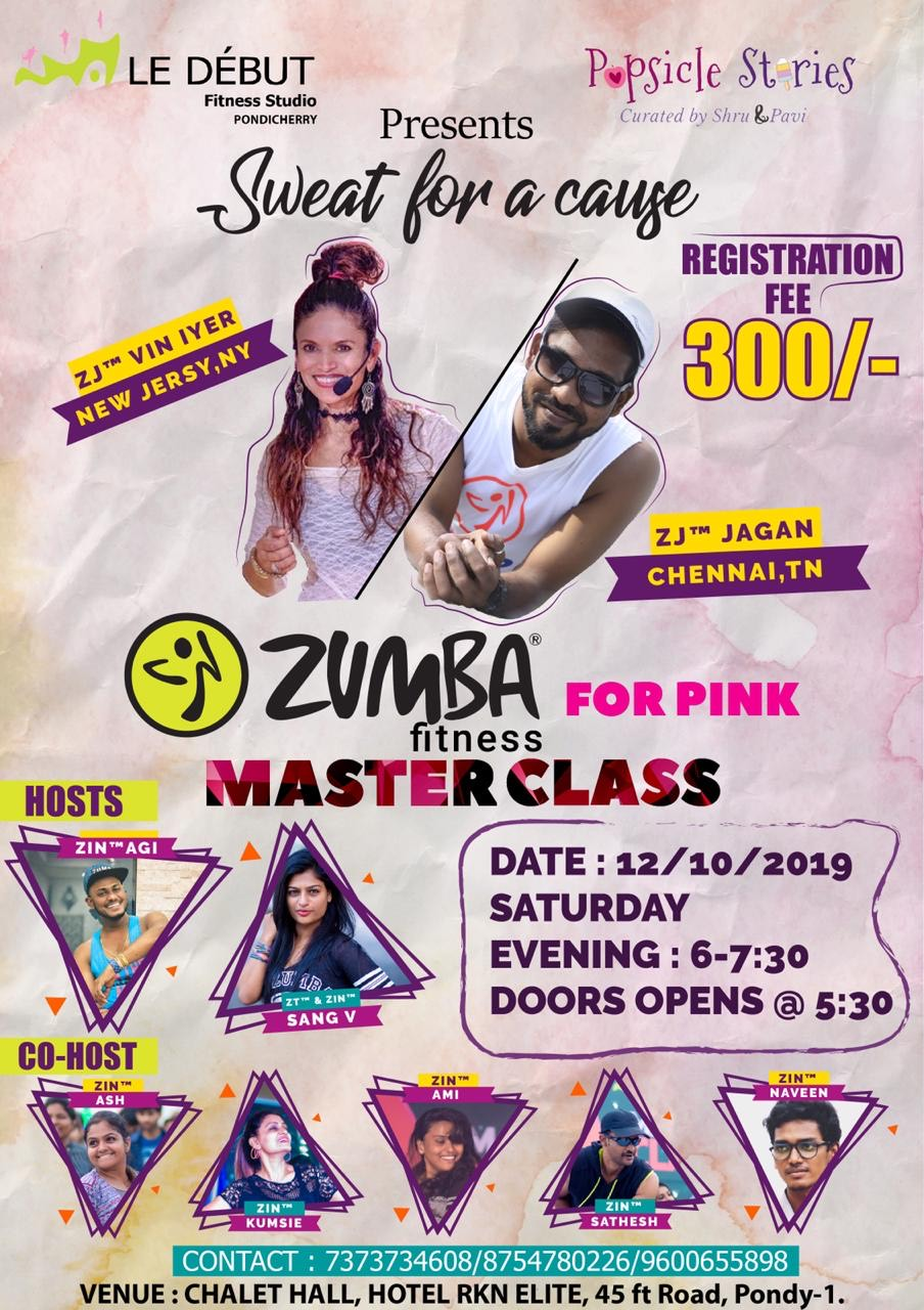 Zumba for Pink