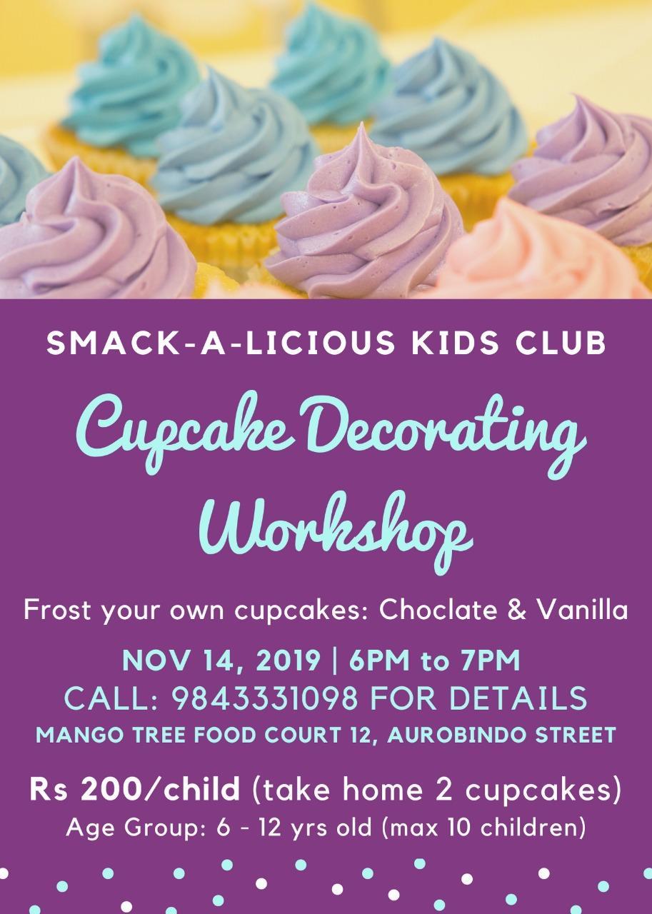 Cupcake Decorating Workshop
