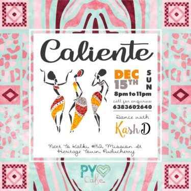 Noche Caliente I Afro - Latin Party I Rueda