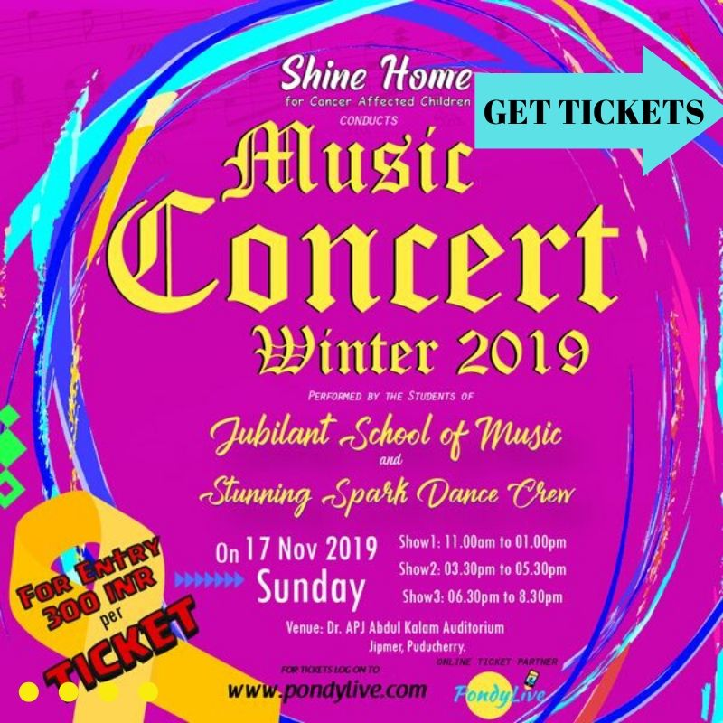 fundraiser music concert winter 2019 for benefit of children with cancer