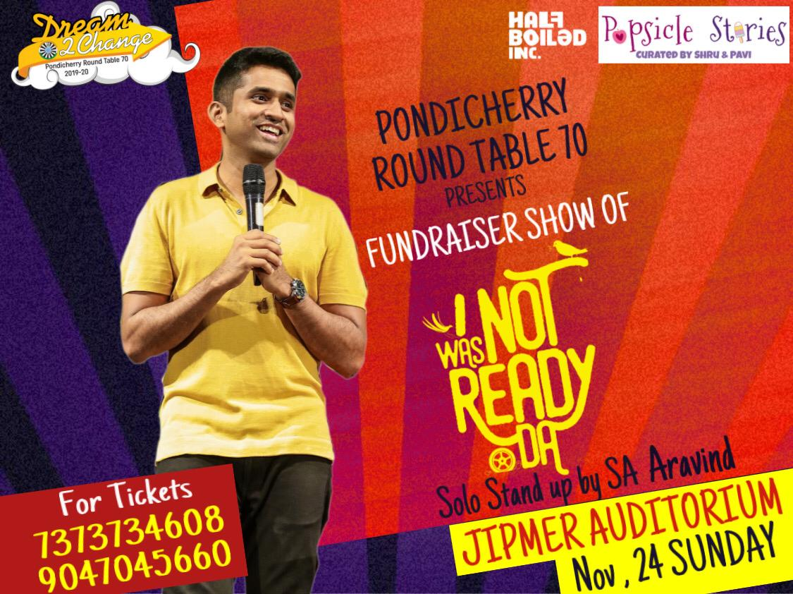 I Was Not Ready Da Pondicherry StandUp Show