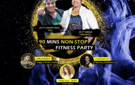 F3 90 minutes Non-Stop Zumba Fitness Party
