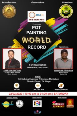 Pot Painting world record