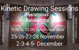 Kinetic Drawing Sessions