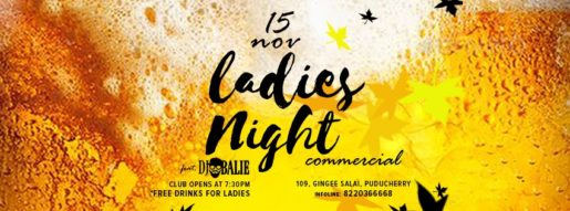 Ladies Night - Commercial, ft. DJ Balie on 15 November