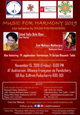 Music for Harmony 2019