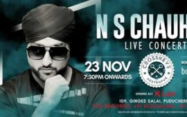 NS Chauhan Live Concert Pondicherry