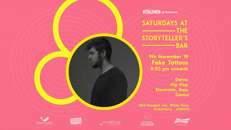 Saturdays ft Fake Tattoos at The Storyteller's Bar | Pondicherry