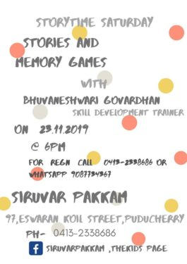 Stories and memory games