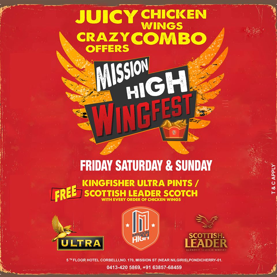 Wings & Beer Fest at Mission High