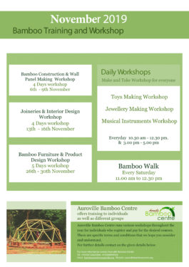 Bamboo Training and Workshop