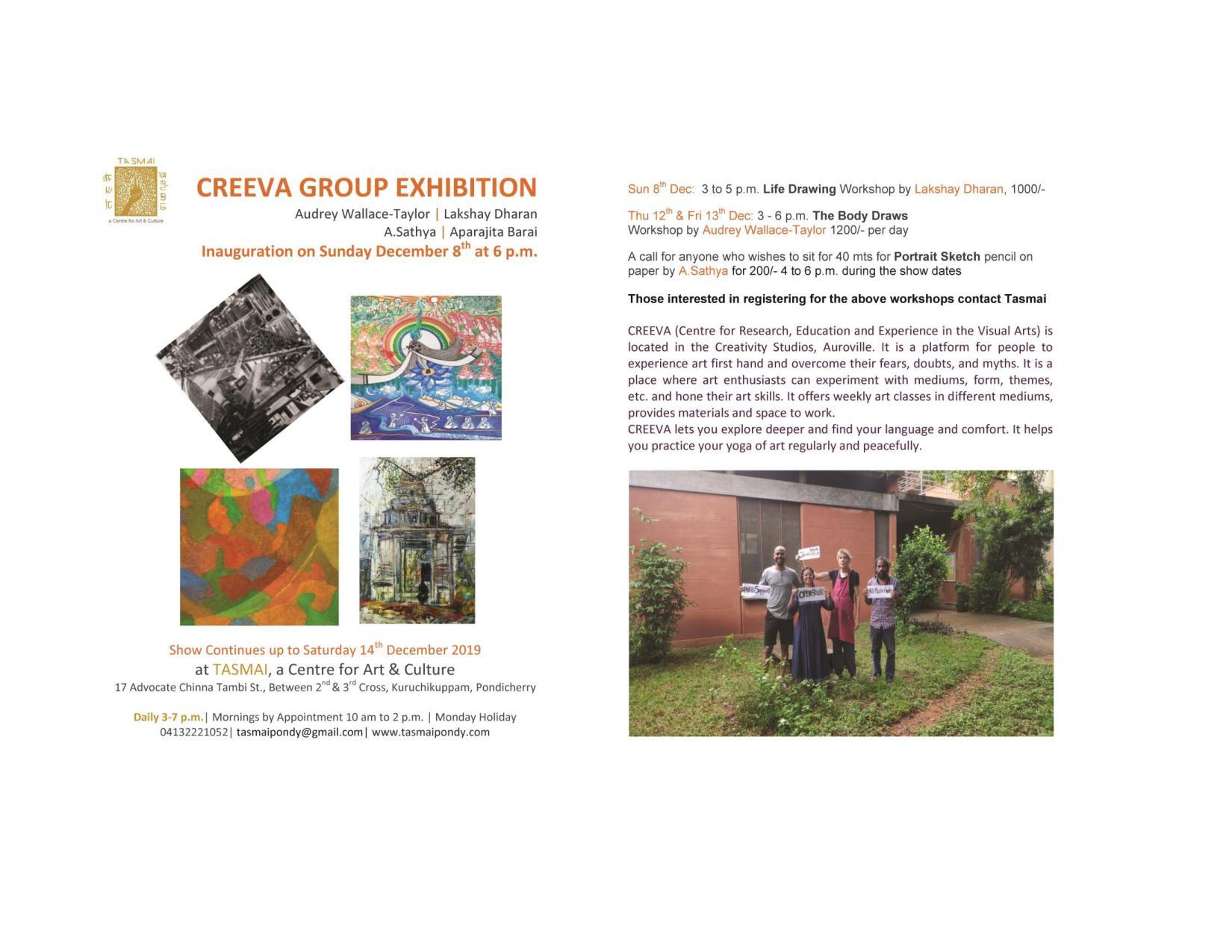 Creeva Group Exhibition at TASMAI