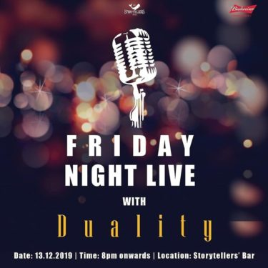 Friday Night Live at Storyteller's Bar