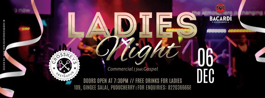 Ladies Night - Commercial, feat. Gospel