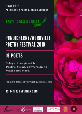 Pondicherry Auroville Poetry Festival 2019