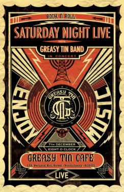Saturday Night LIVE @ The Greasy Tin Café