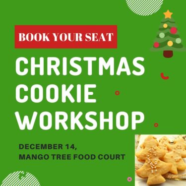 REGISTER Christmas Cookie WORKSHOP IN PONDICHERRY