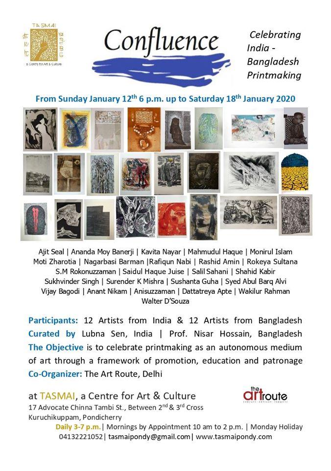 Confluence Celebrating India - Bangladesh Printmaking