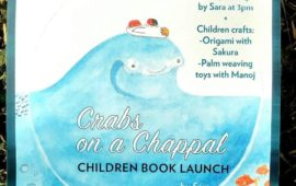 Crabs on a Chappal