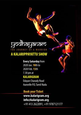 Yodhayanam- A journey of a warrior - A Kalarippayattu Show