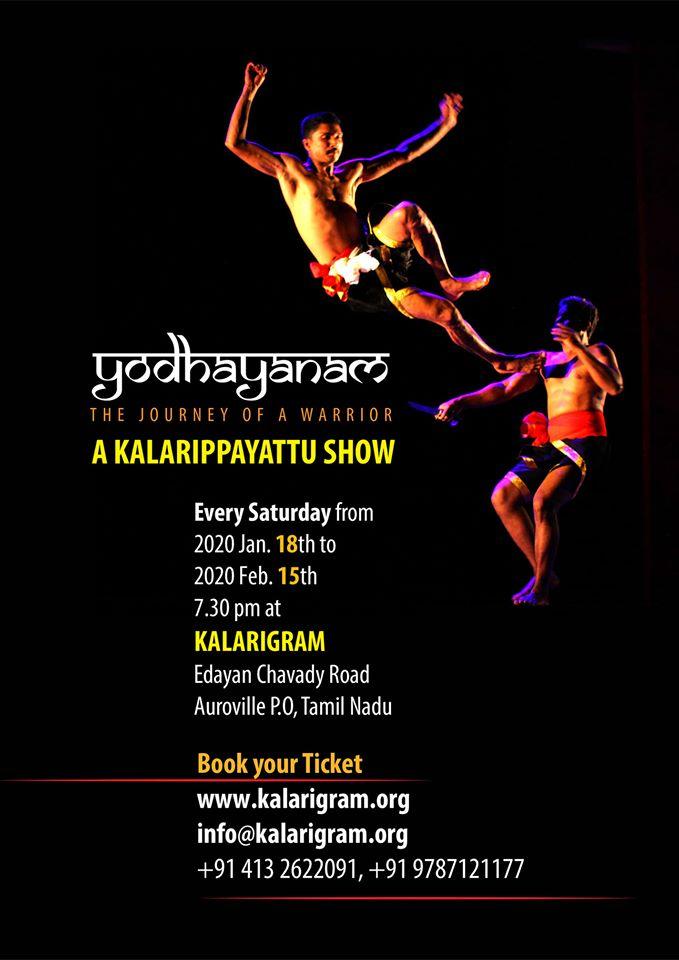 Yodhayanam- A journey of a warrior - A Kalarippayattu Show