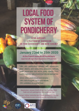 Local food system of Pondicherry: A discussion on food sovereignty and agro-ecology.