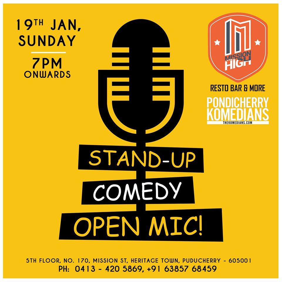 Stand-Up Comedy Open Mic Night
