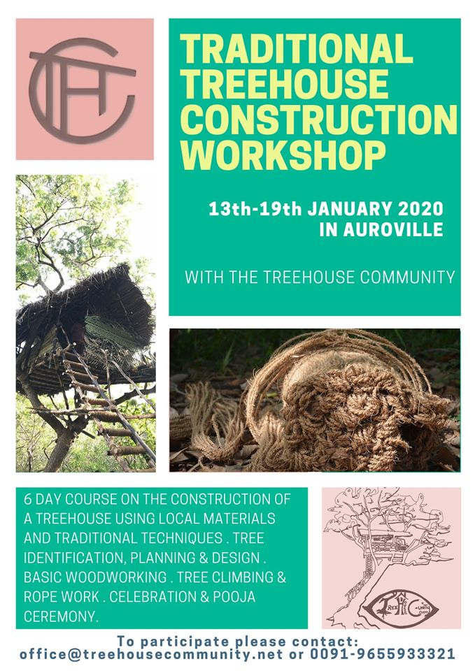 Traditional Treehouse Construction Workshop