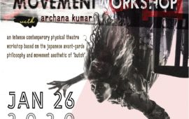 BUTOH inspired Movement Workshop
