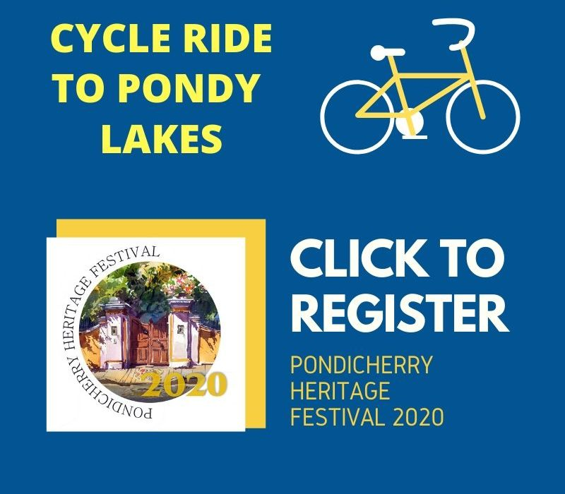 register for cycle ride and cycle tour of pondicherry