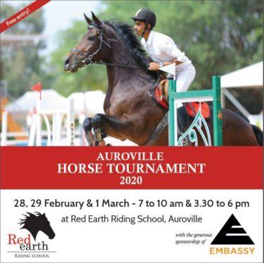 AUROVILLE HORSE TOURNAMENT