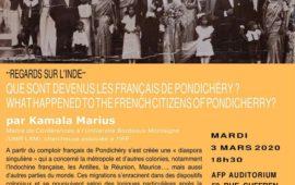 Kamala Marius at Alliance Française