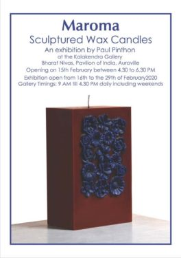 Maroma Sculptured Wax Candles