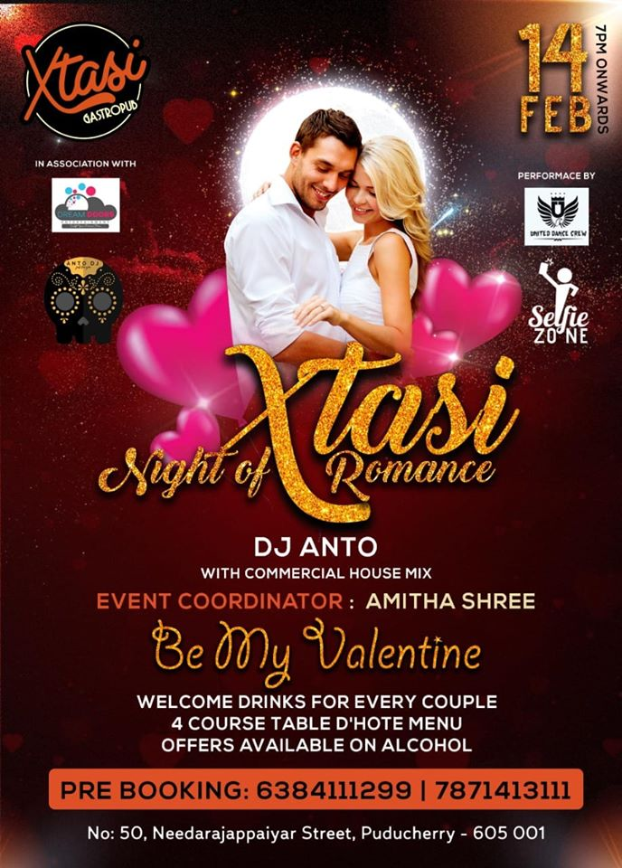 Xtasi night of romance