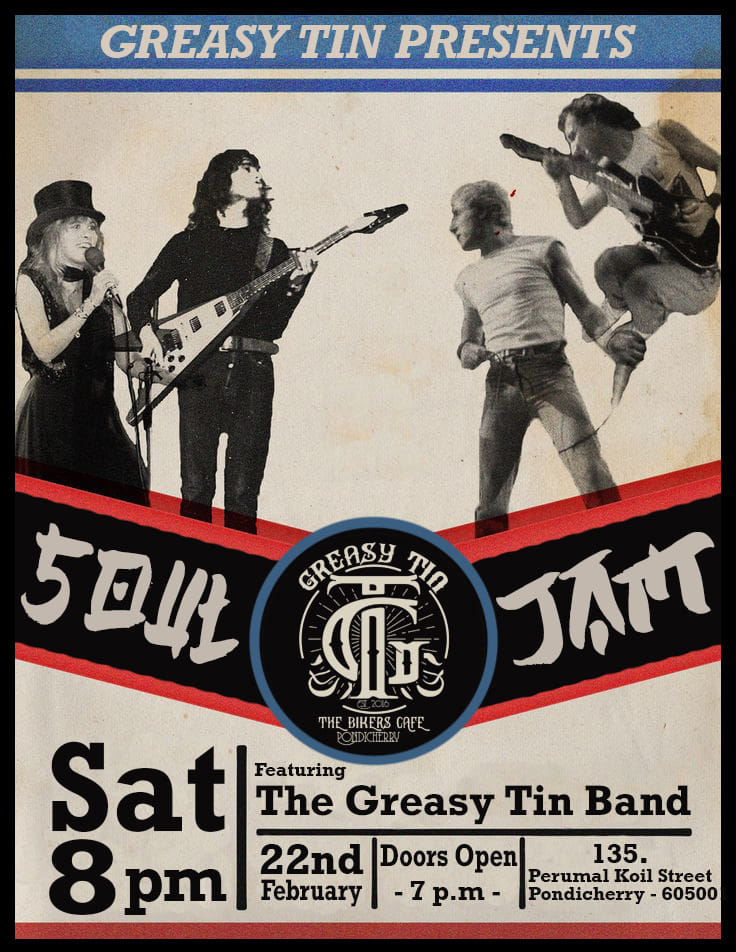 Soul Jam @ The Greasy Tin Cafe
