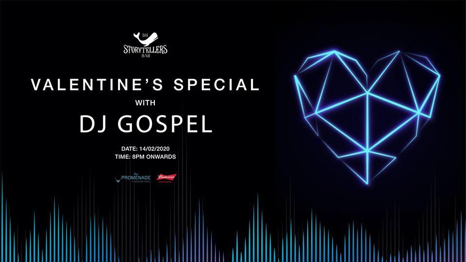 Valentines Night at The Storytellers' Bar with DJ Gospel