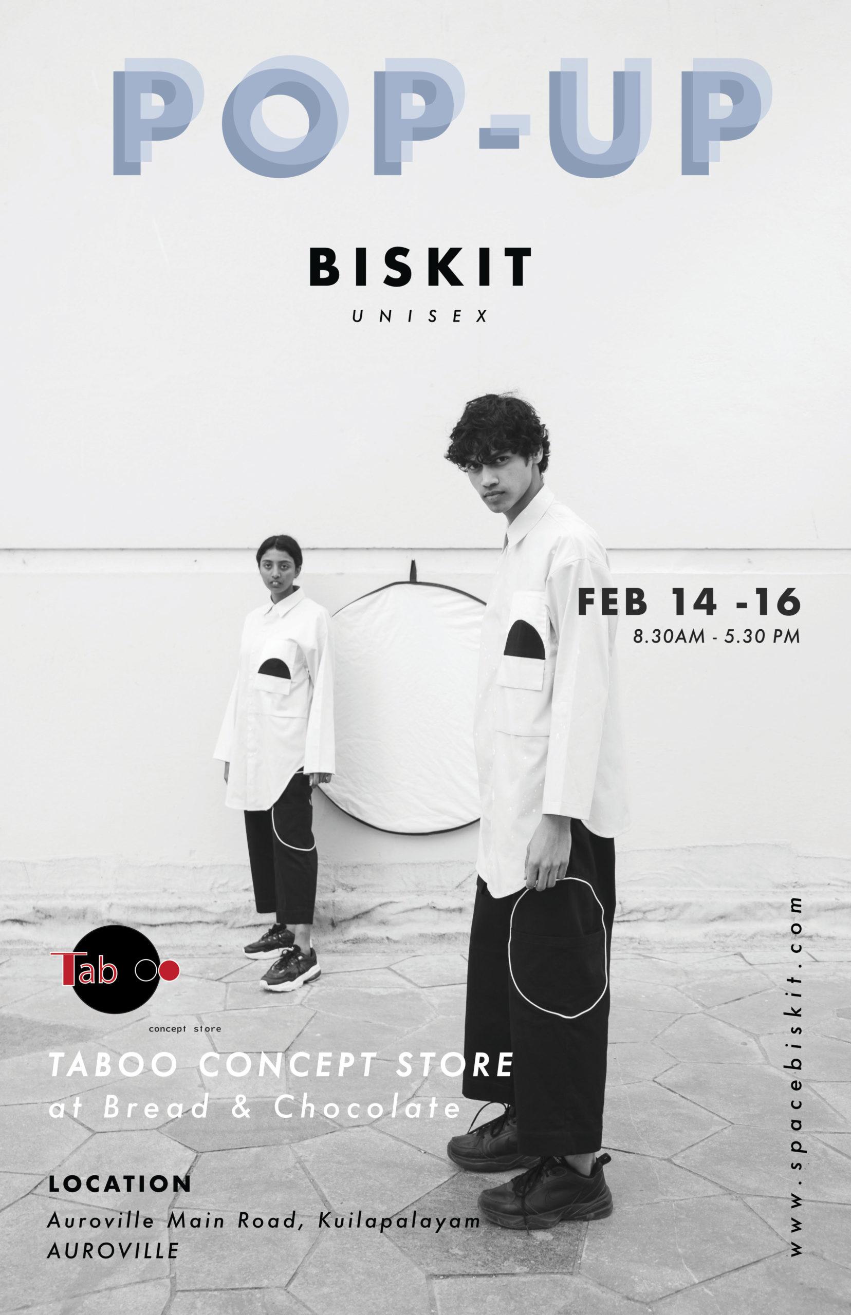 Space Biskit pop-up shop